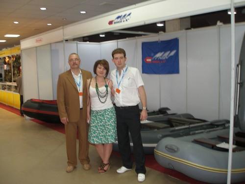 Мы с Анастасией Волгоградской, главной по выставке...